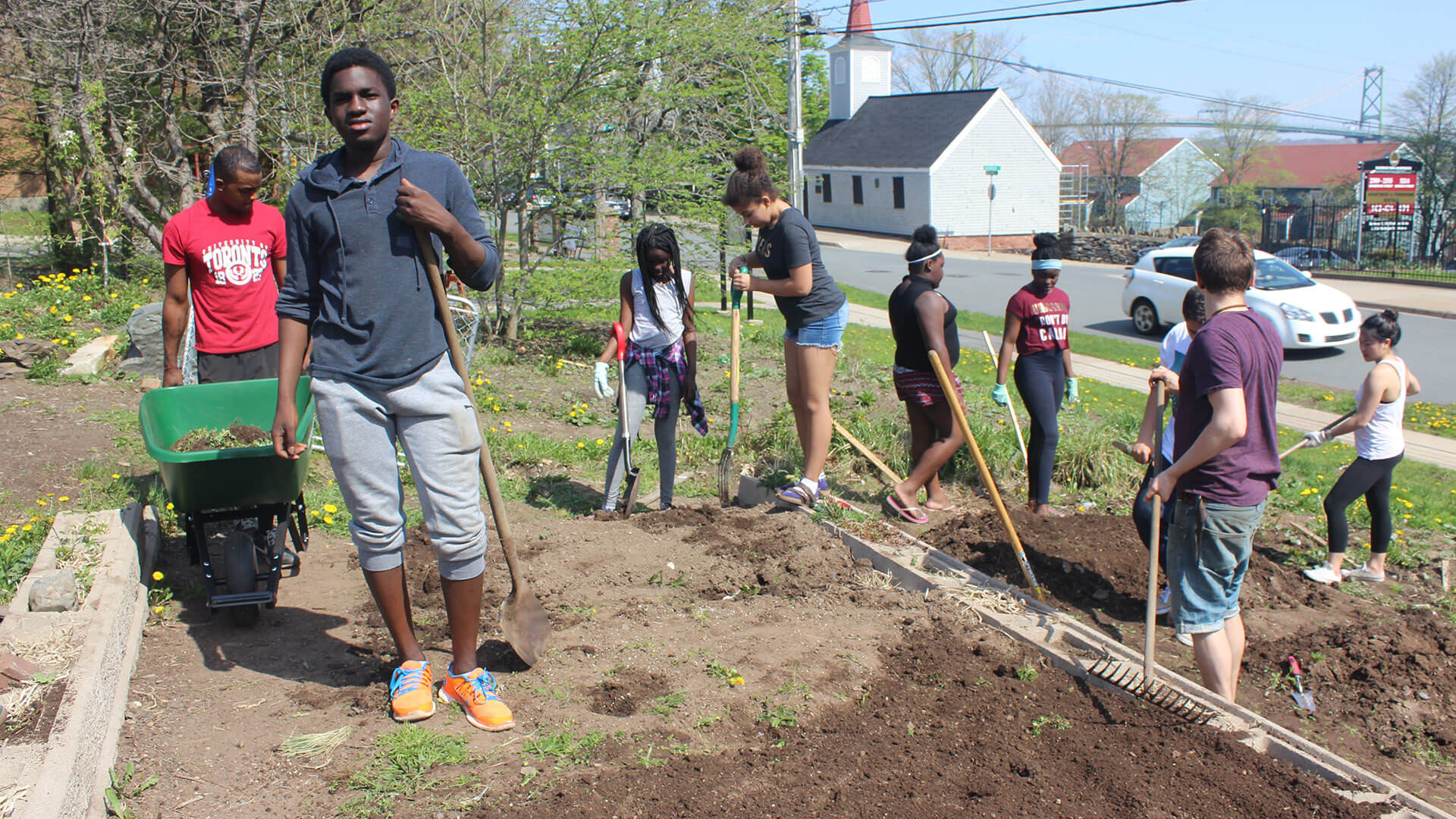 Growing Through the Concrete